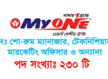 MyOne Group Job Circular