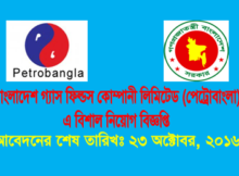 Bangladesh Gas Field Company Limited Job Circular