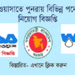 Chittagong Wasa Job Circular