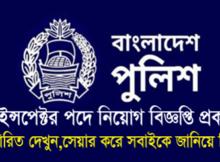 Bangladesh Police Job Circular 2016