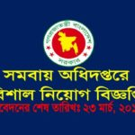 Department of Cooperatives Job Circular 2017