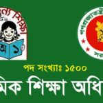 Primary Assistant Teacher Job Circular 2017