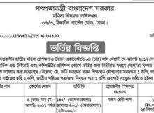 Department of Women Affairs Job Circular