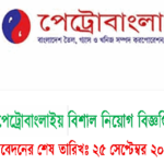 Job Circular Of PetroBangla (Bangladesh Oil, Gas & Mineral Corporation) 2017