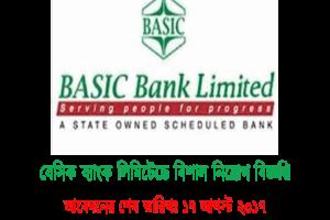 Job Circular Of BASIC Bank Limited 2017